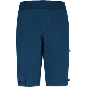 E9 Pentagon Shorts Men cobalt blue